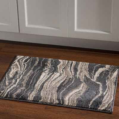 Wolfsburg Blue Area Rug Rug Size: Rectangle 2 x 3