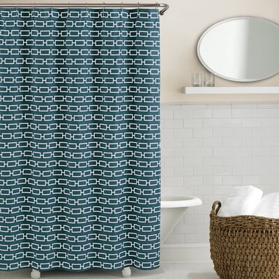 Cantu Shower Curtain Color: Dark Teal