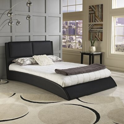 Musa Upholstered Platform Bed Size: Queen