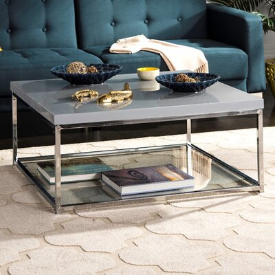 Pat Coffee Table Top Color: Gray