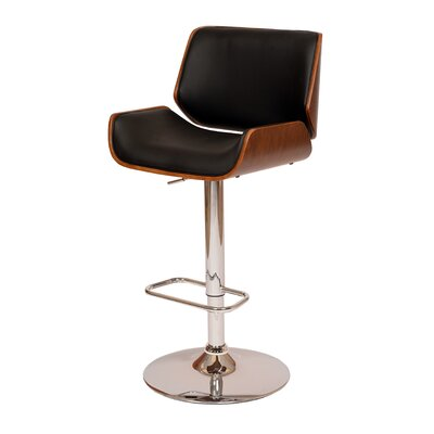 Gulfport-Biloxi Height Adjustable Swivel Bar Stool