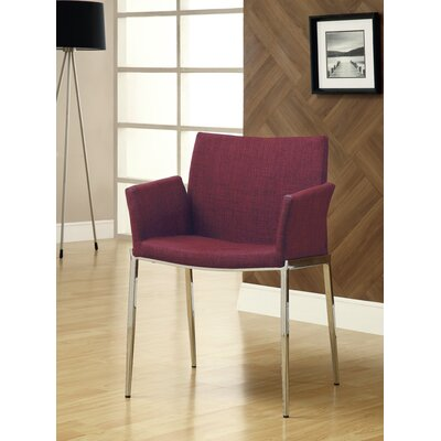Swanson Arm Chair Upholstery: Cranberry