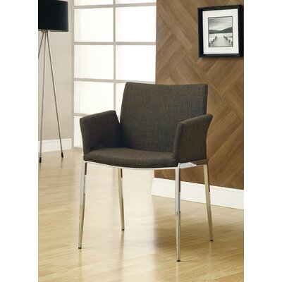 Swanson Arm Chair Upholstery: Coffee