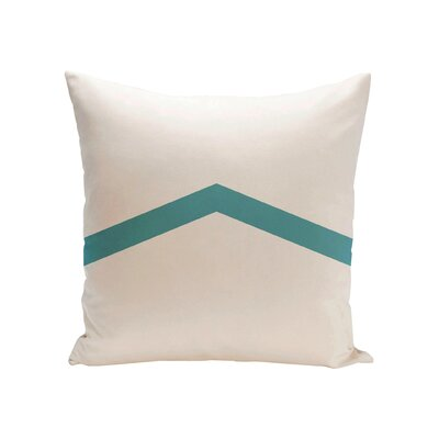 Uselton Throw Pillow Size: 16 H x 16 W, Color: Bahama