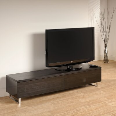 Carnamaddy 63 TV Stand Finish: Gloss Black