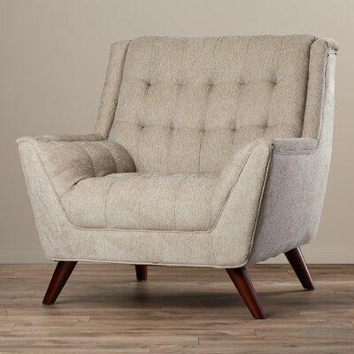 Davis Arm Chair Color: Dove Gray