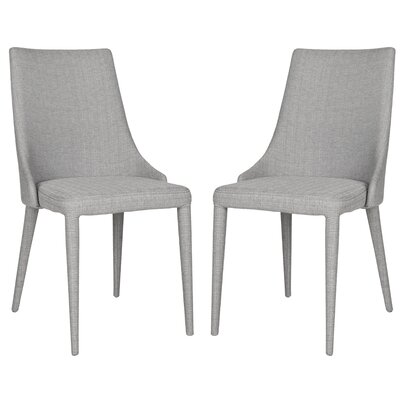 Sherwood Upholstered Dining Chair Color: Gray