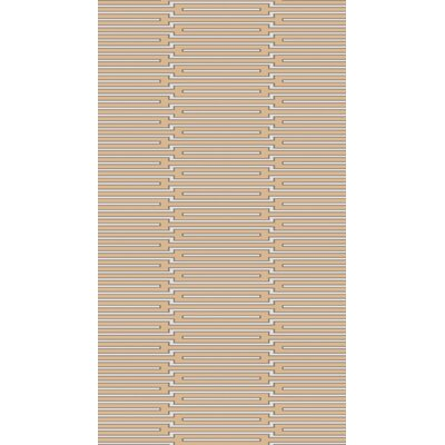Montana Hand-Knotted Tan Area Rug Rug Size: Runner 26 x 8