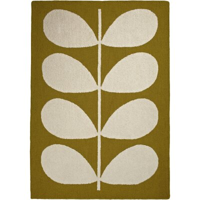 Fremont Beige/Green Area Rug Rug Size: Rectangle 57 x 711