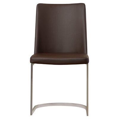 Farranacushog Side Chair Upholstery: PU+Sponge - Brown