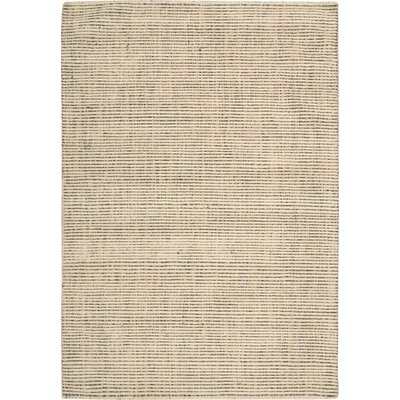 Spartacus Hand-Woven Beige Area Rug Rug Size: 79 x 1010