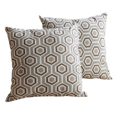 Kilbride Cotton Throw Pillow Size: 18 H x 18 W