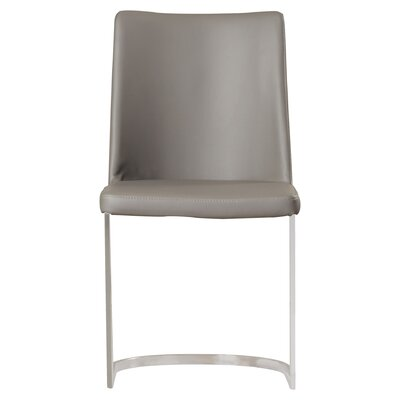 Farranacushog Side Chair Upholstery: PU+Sponge - Gray