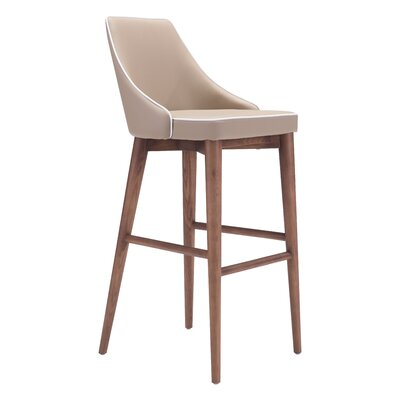 West Covina 29.9 Bar Stool Upholstery: Beige