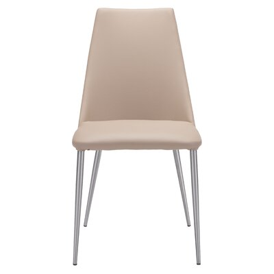 Ardihannon Side Chair Upholstery: Beige