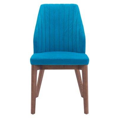 Ardihannon Parsons Chair Upholstery: Blue