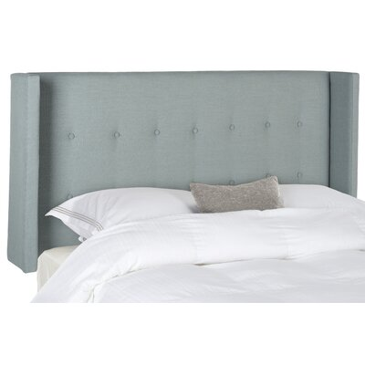 Jacksonville Upholstered Wingback Headboard Size: King