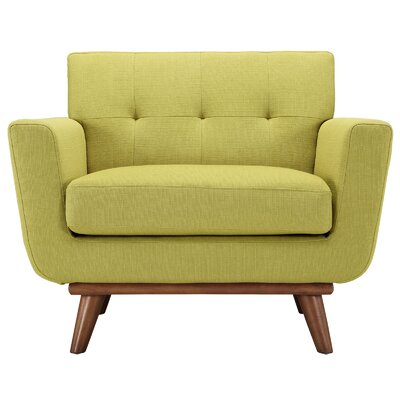Saginaw Arm Chair Upholstery: Wheatgrass