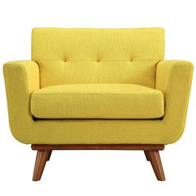 Johnston Armchair Upholstery: Sunny