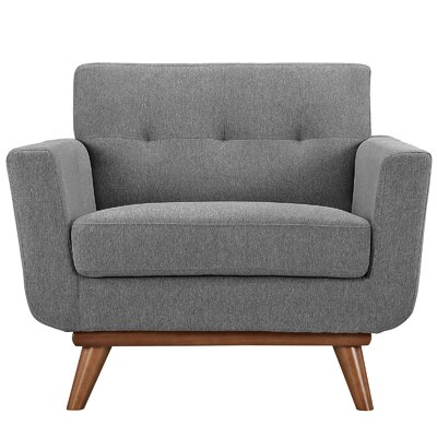 Johnston Armchair Upholstery: Expectation Gray