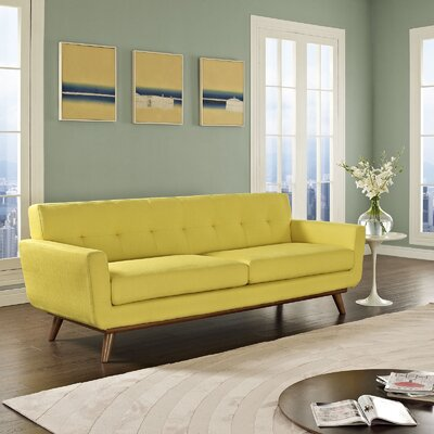 Johnston Upholstered Sofa Upholstery: Sunny
