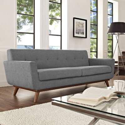 Johnston Upholstered Sofa Upholstery: Expectation Gray