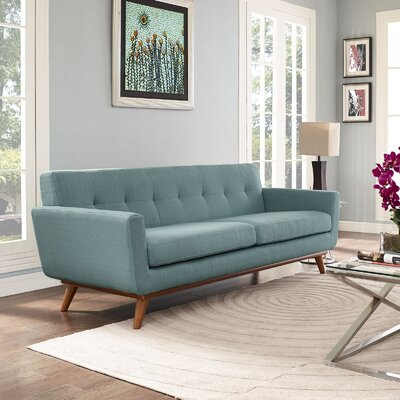 Johnston Upholstered Sofa Upholstery: Laguna