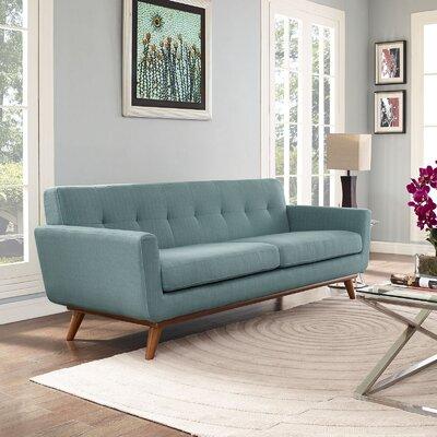 Johnston Upholstered Sofa Upholstery: Laguna