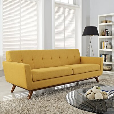 Saginaw Upholstered Sofa Upholstery: Citrus