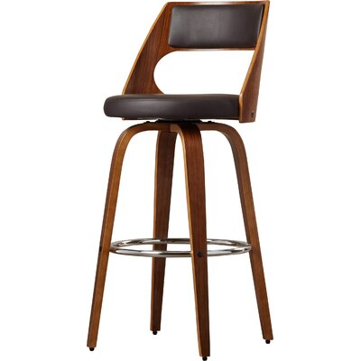 Drains Bay Swivel Bar Stool