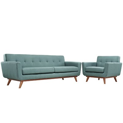 Saginaw Arm Chair and Sofa Set Upholstery: Laguna