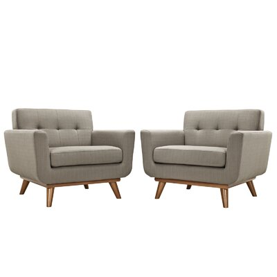 Saginaw Arm Chair Upholstery: Granite