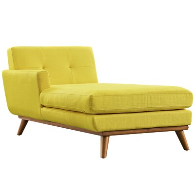 Saginaw Chaise Lounge Upholstery: Sunny