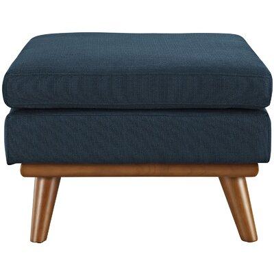 Saginaw Ottoman Upholstery: Azure