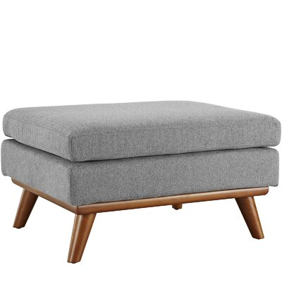 Saginaw Ottoman Upholstery: Expectation Gray