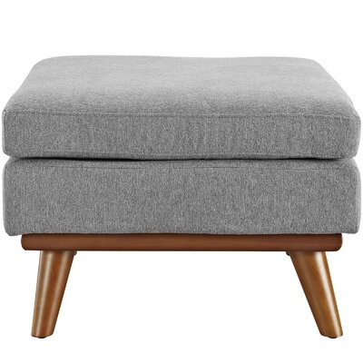 Johnston Ottoman Upholstery: Expectation Gray