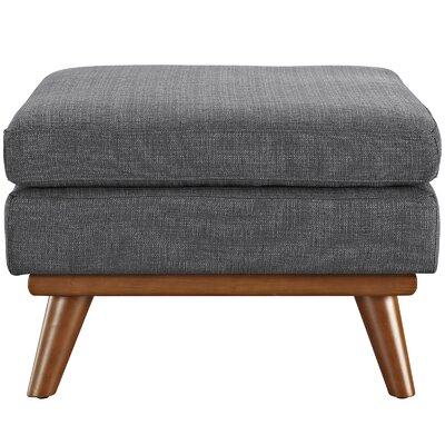Johnston Ottoman Upholstery: Gray