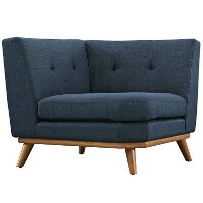 Johnston Armchair Upholstery: Azure