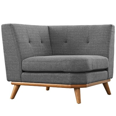 Saginaw Armchair Upholstery: Expectation Gray