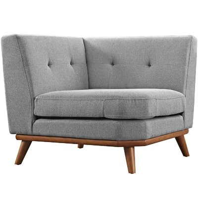 Saginaw Armchair Upholstery: Gray