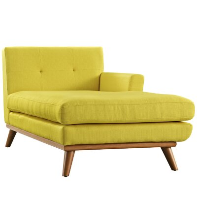 Saginaw Chaise Lounge Upholstery: Sunny, Orientation: Left Hand Facing