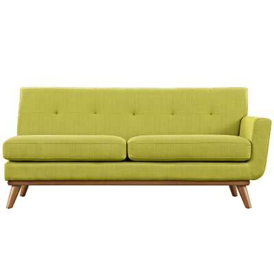 Saginaw Loveseat Upholstery: Wheatgrass, Orientation: Right Hand Facing, Size: 33.5 H x 67 W x 35 D