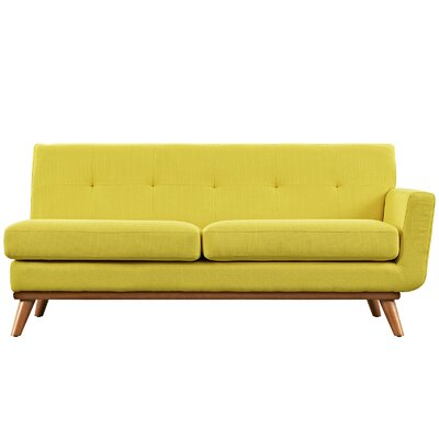 Johnston Loveseat Upholstery: Sunny, Orientation: Right Hand Facing, Size: 33.5 H x 67 W x 35 D