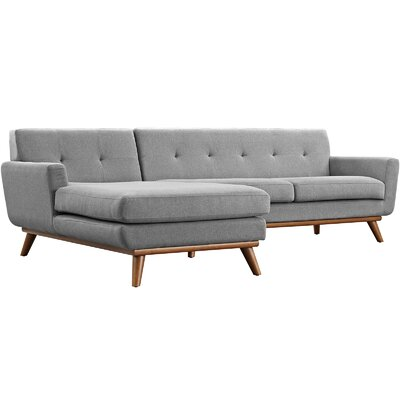 Saginaw Sectional Upholstery: Expectation Gray