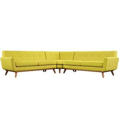 Saginaw Sectional Upholstery: Sunny