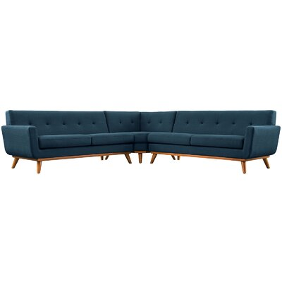 Saginaw Sectional Upholstery: Azure