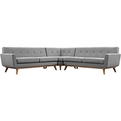 Saginaw Modular Sectional Upholstery: Expectation Gray