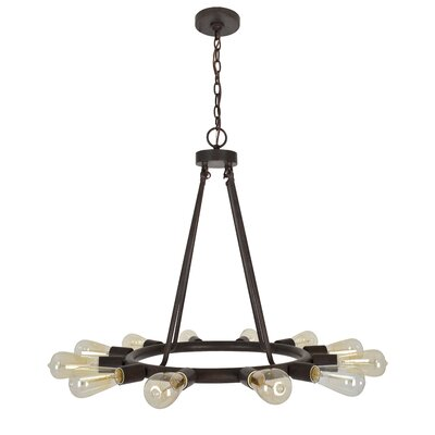 Flower Hill 12-Light Sputnik Chandelier