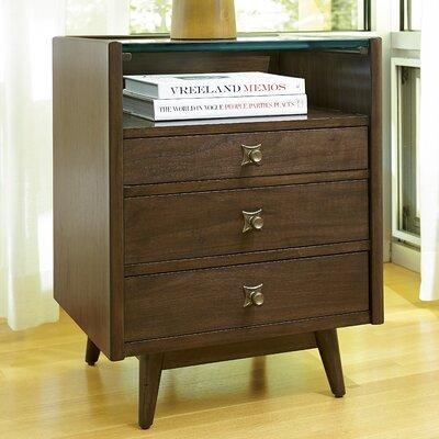 Cushendall 3 Drawer Nightstand