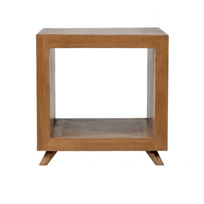 Poppy Cubic End Table Finish: Antique Wheat